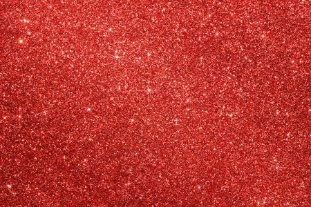 Rode Glitter Kerst Achtergrond Met Kopie Ruimte Stockfoto