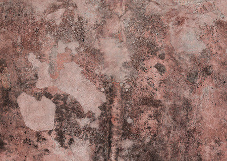 plaster mould: Red grunge concrete texture, background with copy space