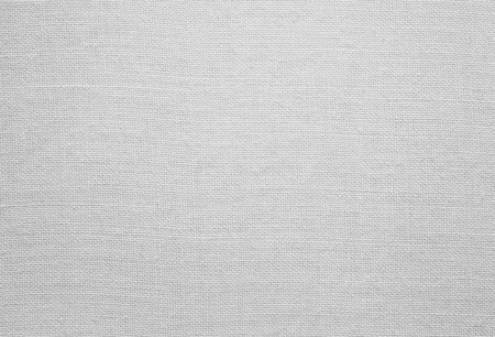 White linen texture, background with copy space Banco de Imagens
