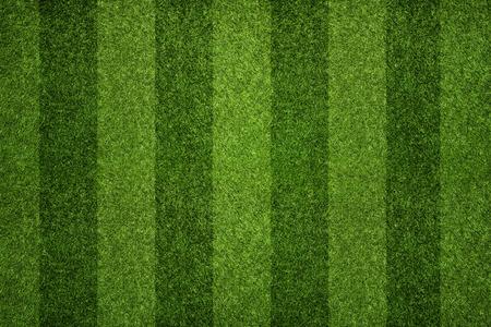 Gestreifte Fußballfeld Textur Hintergrund mit Kopie Raum Standard-Bild - 39373624