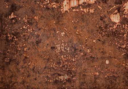 worn: Close up of rust texture, background with copy space