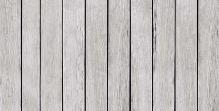 Panoramic, empty, white wood background, texture with copy space