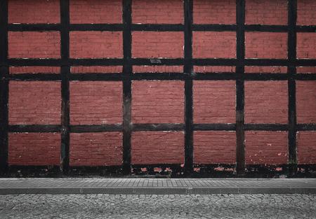Old urban background with copy space Lizenzfreie Bilder