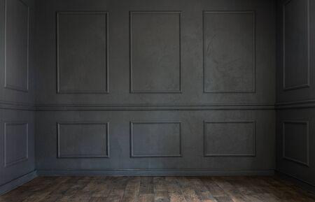 Grunge alten dunklen leeren Raum mit Kopie Raum Lizenzfreie Bilder
