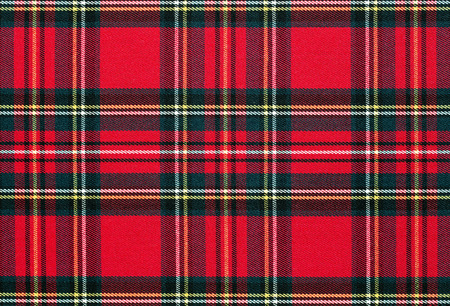 red wallpaper: Close up of red, checkered textile background, texture with copy space