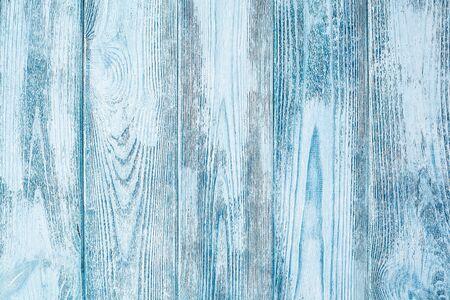 Verwitterte Blauholzbeschaffenheit, Hintergrund mit Kopienraum Standard-Bild