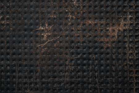 Old, scratched, rusty metal texture, background with copy space