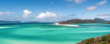 Panoramic view of beautiful tropical beach