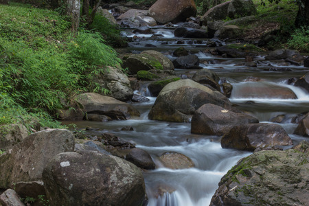 rill: river Stock Photo