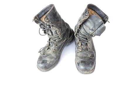 military boots: Old military boots