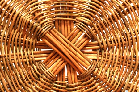 Wicker basket  Background  photo
