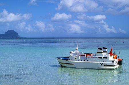 miniature-ships, Westcoast of Mauritius Stock Photo - 5533657