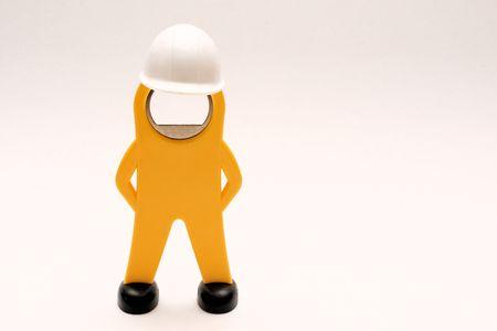 demonstrative: worker-figure with helmet