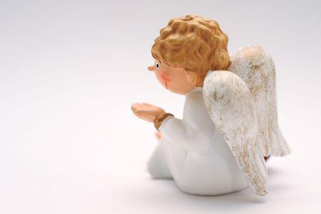 Figure of an angel 免版税图像