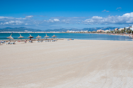 infamous: Overlooking the famous and infamous Playa de Palma, Mallorca