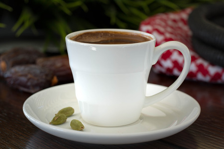 Turkish coffee with cardamom
