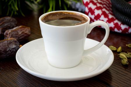 Turkish coffee with cardamom in Jordan