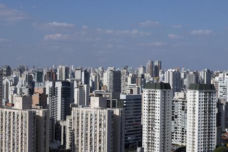 Large estates of the city of São Paulo, South America Brazil