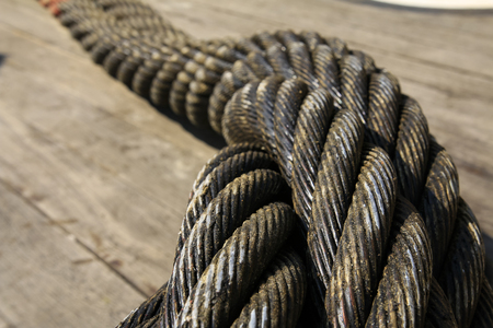 Heavy industry and offshore steel cable
