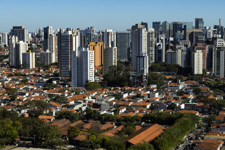 Largest cities in the world. City of Sao Paulo, Brazil South America. Reklamní fotografie