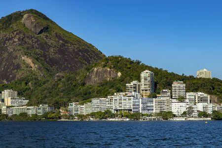 Rodrigo de Freitas lagoon, Rio de Janeiro Brazil, South America.