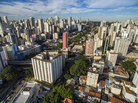 Sao Paulo city, Brazil South America. Pacaembu Avenue.