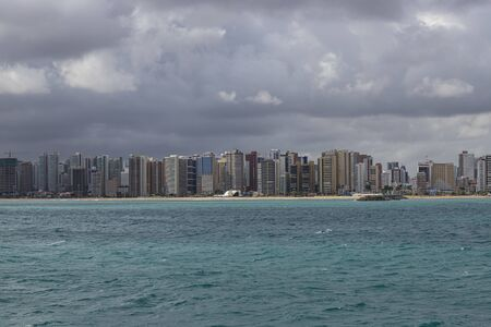 Tourism city. The city of Fortaleza, State of Ceara, Brazil, South America.