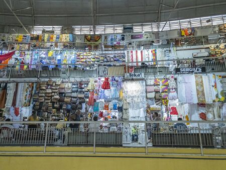 Fortaleza city, Ceara state, Brazil South America. 01/31/2020: Large markets in the world. Fortaleza Central Market. The city of Fortaleza is one of the most popular tourist destinations in Brazil. The Fortaleza market sells a wide range of products and s Redactioneel