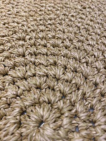 Sisal carpet, Brown sisal carpet decoration, Braided rope sisal.