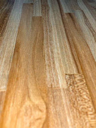 Butcher block countertop. Wood texture for design and decoration.