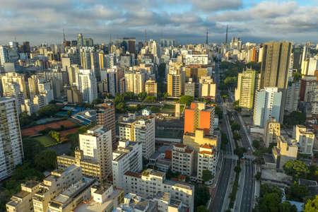 City of Sao Paulo, Consolaçao Street, Brazil.