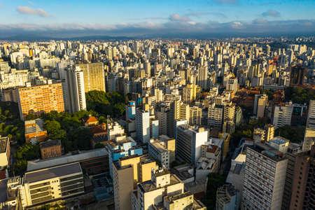 Big cities. Sao Paulo city, Brazil, South America.