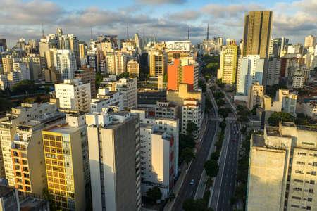 City of Sao Paulo, Consolação Street, Brazil.