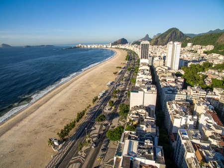 Copacabana beach, Rio de Janeiro city, Brazil. South America. Stok Fotoğraf