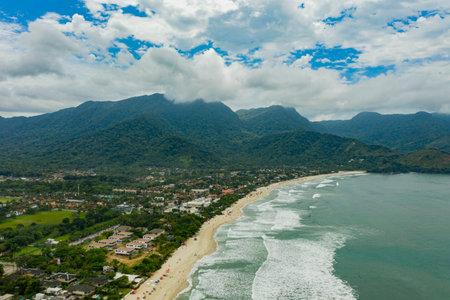 Maresias Beach, Sao Paulo state, Brazil. South America.