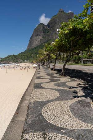 Sao Conrado beach, Rio de Janeiro, Brazil.