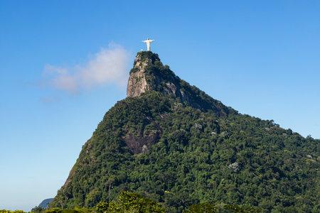 Christ the Redeemer. City of Rio de Janeiro, Brazil. Imagens - 164438945