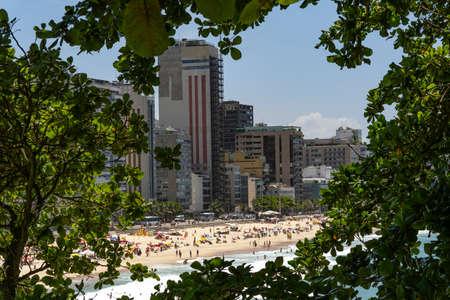 City of Rio de Janeiro, Leblon beaches. Brazil. Stok Fotoğraf