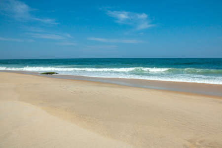 Sea sand sky concept. Wonderful scenery of the tropical beach. Summer vacation. Stockfoto