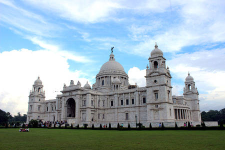 Victoria Memorial Hall of Kolkata a common landmark of the city Editorial