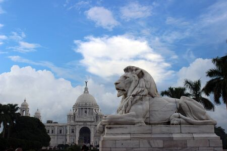 Victoria and Lion the royal guard