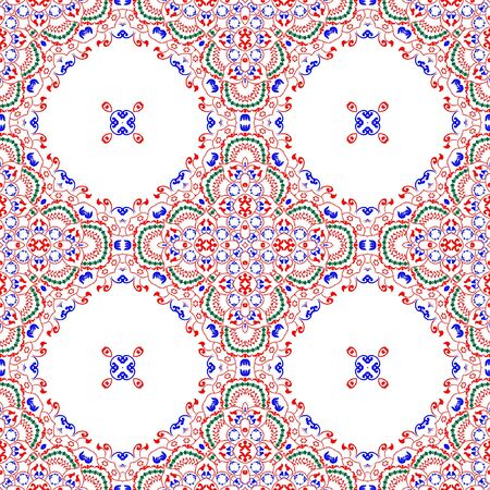 Nice pattern floral digital design created in specialized software for graphic resources for helping graphics designer to create finest art and design.