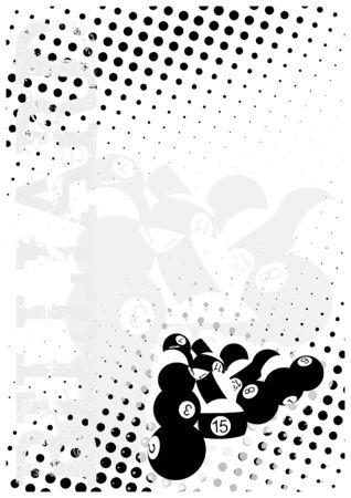 nemici: biliardo punti poster sfondo