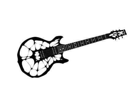 arachnoid: spider electric guitar