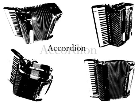 accord�on: Accord�on vecteurs