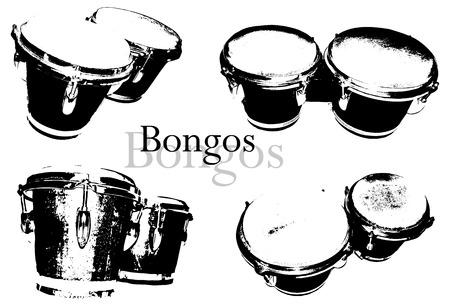 melodic: bongos Illustration