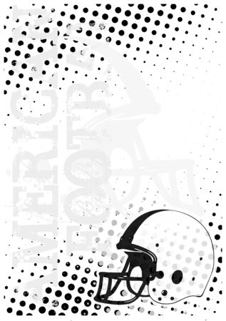 teammate: american football dots poster background 3