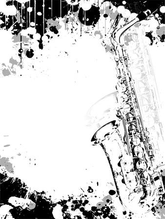 concerts: Jazz poster background Illustration