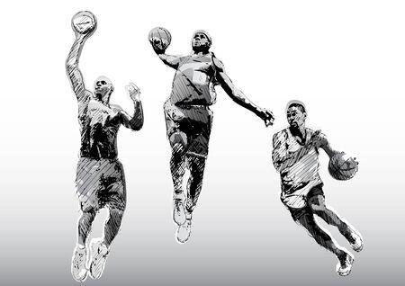 trio: basketball trio