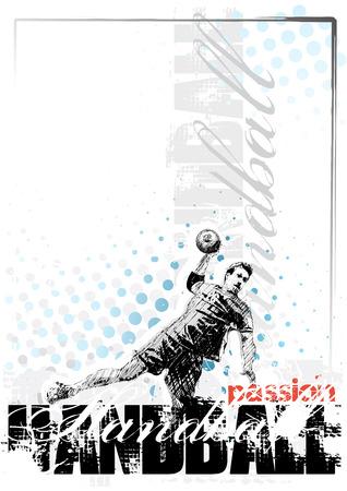 handball: handball background 2